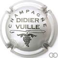 Champagne capsule 7.c Gris-argenté et noir