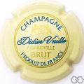 Champagne capsule 4 Crème, bleu et or