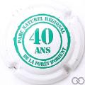 Champagne capsule 6 40 ans Parc d'Orient