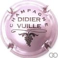 Champagne capsule 7.e Rosé-violacé et noir