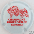 Champagne capsule 8.a Blanc et rouge