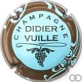 Champagne capsule 7 Bleu pâle, contour sparflex marron