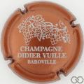 Champagne capsule 8.d Cuivre foncé et blanc