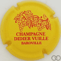 Champagne capsule 8 Jaune et rouge