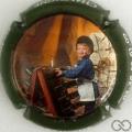 Champagne capsule 2.c Contour vert, enfant à droite