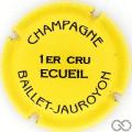 Champagne capsule 17.h Jaune et noir