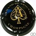Champagne capsule 28.f Nabuchdonosor, noir et or