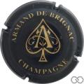 Champagne capsule 28.h Jéroboam, noir A or
