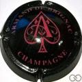 Champagne capsule 28.e Nabuchodonosor, noir et mauve