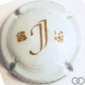 Champagne capsule A9 Blanc et or