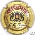 Champagne capsule 2 Or et bordeaux foncé