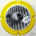 Champagne capsule 6.b Contour jaune