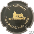 Champagne capsule 6.b 3éme Millénaire, noir et or