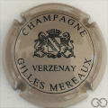 Champagne capsule 23 Gris et noir