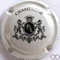 Champagne capsule 25 Blanc et noir