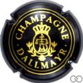 Champagne capsule 4 Quart, noir et or