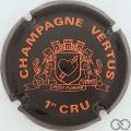 Champagne capsule 8 Noir et orange