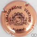Champagne capsule 21 Cuivre et noir, petites lettres