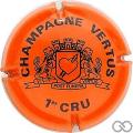 Champagne capsule 4 Orange et noir