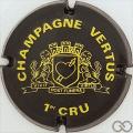 Champagne capsule 10 Noir et jaune