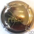 Champagne capsule 33.b Cuvée Etincelle écriture verte