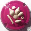 Champagne capsule A1.j Fond rose foncé, sculptée
