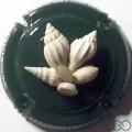 Champagne capsule A1.h Fond vert foncé, sculptée
