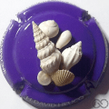 Champagne capsule A1.g Fond violet, sculptée