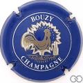 Champagne capsule 15.a Bleu et blanc, coq épais