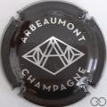 Champagne capsule 1 Noir et argent
