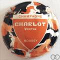 Champagne capsule 3 Rouge-orangé