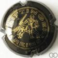 Champagne capsule 60.a Jéroboam, noir, croix dorée