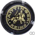 Champagne capsule 60 Jéroboam, noir, dessin plus fin