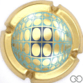 Champagne capsule 97 Vasarely