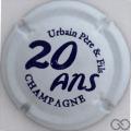 Champagne capsule A1.c 20 ans, blanc et violet