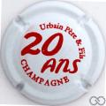 Champagne capsule  20 ans, blanc et rouge