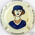 Champagne capsule 13.b PALM,  Bleu