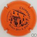 Champagne capsule 6.f Orange et noir