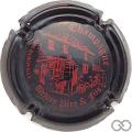 Champagne capsule 6.l Noir et rouge