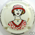 Champagne capsule 13 PALM,  Rouge