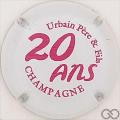 Champagne capsule 48.b Blanc et rose
