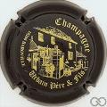 Champagne capsule 6.h Noir et or