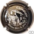 Champagne capsule 6.i Noir et argent