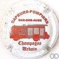 Champagne capsule 18 Fourgon pompier