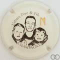 Champagne capsule 9 Fond crème