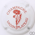 Champagne capsule 19 Blanc et rouge