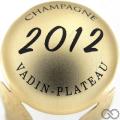 Champagne capsule  Parure, or mat