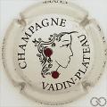 Champagne capsule 20.aa Cuvée Aurélie, avec 2 strass rouge