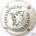 Champagne capsule 20.ab Cuvée Aurélie, avec 2 strass blanc