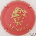 Champagne capsule 31 De Rose et d'Or